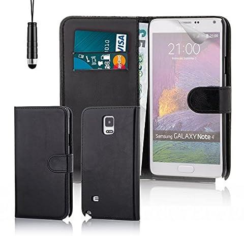 32nd - Étui Samsung Galaxy Note 4 -Book Wallet- en