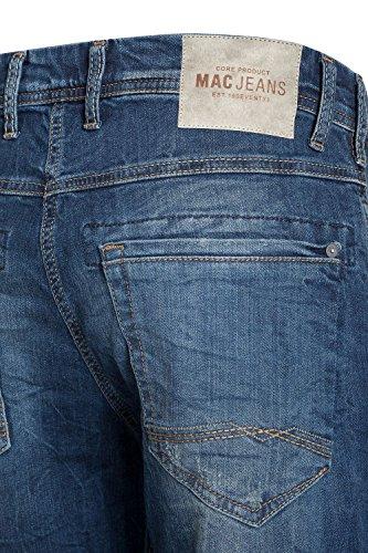 MAC - Jeans - Uni - Homme blau (light authentic used H647)