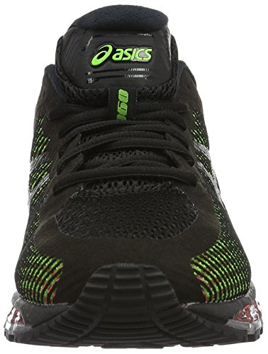 Asics Gel Quantum 360, Chaussures de Running Compétition Homme Noir (Black/White/Green Gecko)