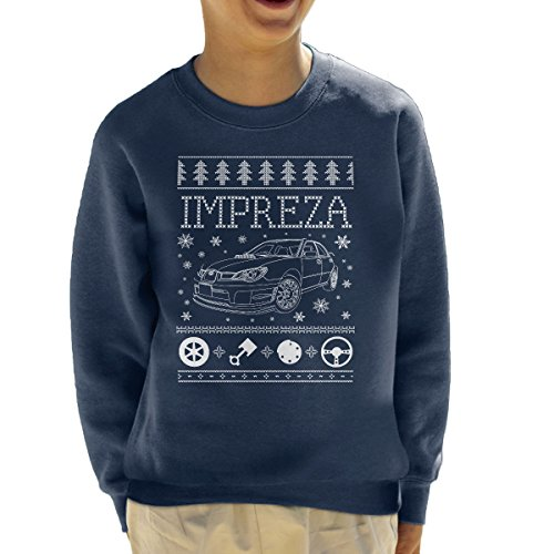 subaru-impreza-christmas-knit-kids-sweatshirt