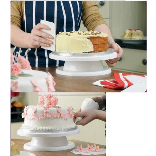 amazing-trading Cake Turntable Platform For Cake Making Stands by amazing-trading