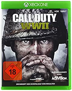 call of duty wwii standard edition xbox one amazon. Black Bedroom Furniture Sets. Home Design Ideas