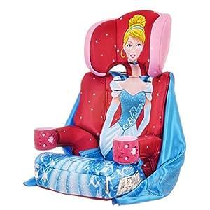 Kids Embrace Group 123 Car Seat Disney Cinderella Pink