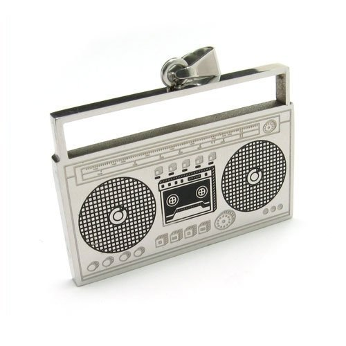 k-mega-jewelry-hip-hop-radio-music-stainless-steel-mens-pendant