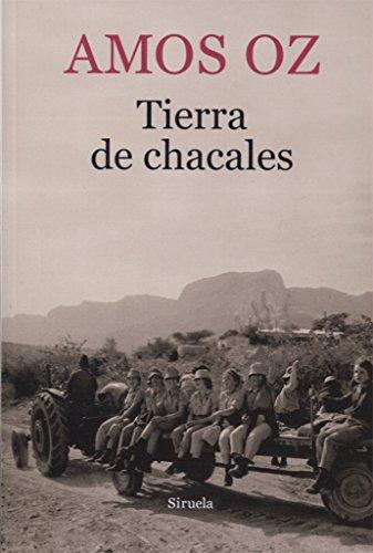 Portada del libro Tierra de chacales (Biblioteca Amos Oz)