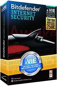Bitdefender Internet Security 2014 (1 poste, protection à vie)