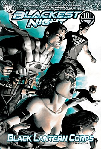 Blackest Night: Black Lantern Corps Vol. - Lantern Comics Black Dc