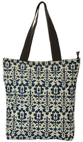 Pick Pocket Women's Tote Bag (Blue, Toin305)  available at amazon for Rs.149
