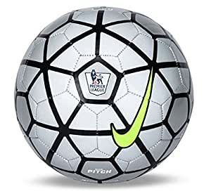 Nike Pitch EPL Premier League Football (Size 5) (Silver