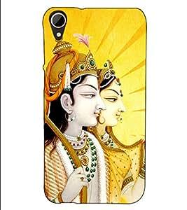 Fuson Designer Back Case Cover for HTC Desire 828 Dual Sim (Jai Sri Ram theme)