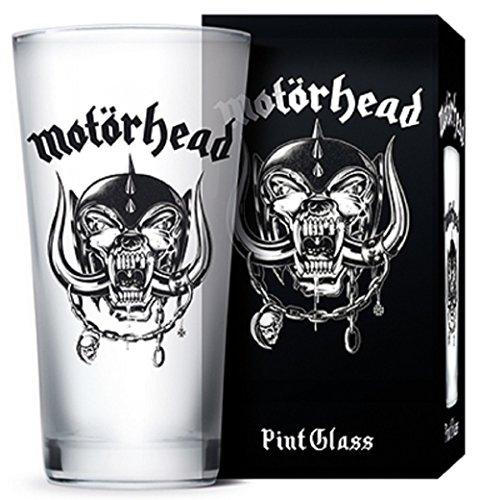 Motörhead Trinkglas, Glas, transparent, 9 x 9 x 15 cm