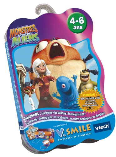 Vtech-Cartouche de Spiel v. Smile Monster gegen Aliens-90165