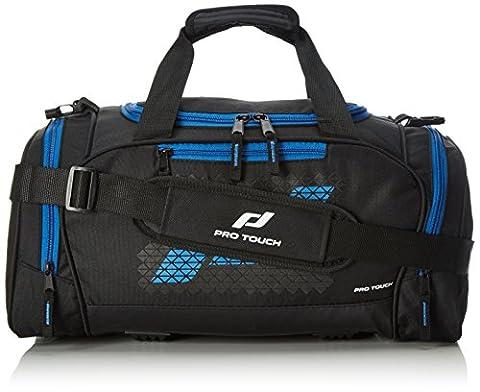 Pro Touch Uni Teambag Force L Sporttasche, Schwarz/Blau, 70 x
