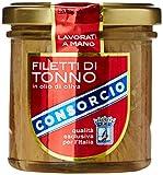 Consorcio Filetti Tonno in Olio di Oliva, Vetro - 150 gr