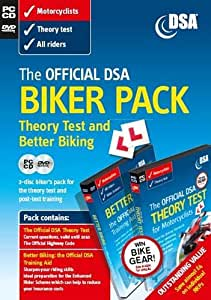 The Official DSA Biker Pack - Theory Test CD-ROM and Better Biking DVD (Valid until 2011)