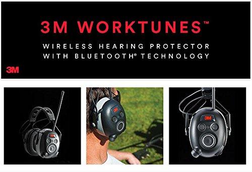 3M BLUETOOTH SNR 24db Digital Radio Gehörschutz Kopfhörer Gehörschützer hearing protector - 7