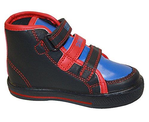 Paw Patrol Trainer Jungen Hi Tops Klettverschluss Pumpen flach Stiefelette Kinder Größe UK 4-10 Paw Patrol Triple Velcro Hi-Top