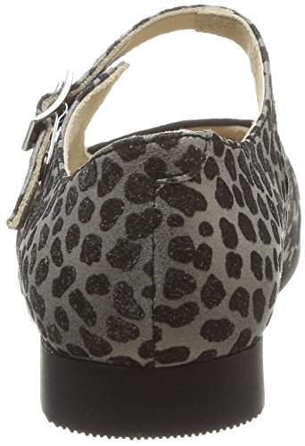 Start Rite Annabel, Chaussures de ville fille Marron (Animal Print Suede)