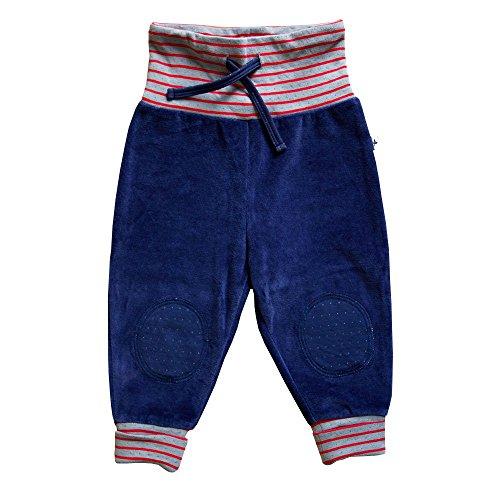 e74fa8550838 Leela Cotton bébé enfants Nicky Pantalon de pur coton bio - Bleu -