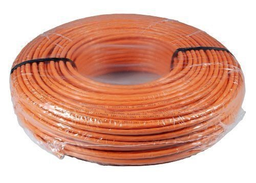 SCENetwork Verlegekabel Cat7 25m, orange, Kabel Cat.7 25m Installationskabel KAT7 Netzwerkkabel 1000Mhz 10 Gigabit zum Anschluss an Netzwerkdosen, Patchpanels und Modulen