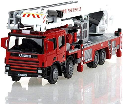 1:50 modello di auto in lega pressofusa modello di auto ingegneria combinazione di auto giocattoli scala salire camion dei pompieri giocattolo veicoli di salvataggio modello di auto regali di nat