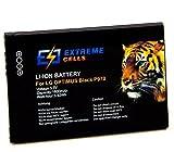 Extremecells® Extremecells® Akku für LG Optimus Black P970 Hub E510 Sol E730 Net P690 L3 L5 ersetzt BL-44JN Accu Battery Batterie