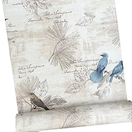 Autoadhesivo decorativo Vintage papel de contacto estante maletero Peel y Stick extraíble papel pintado para estantes cajón muebles pared artes y manualidades decoración 45 x 200 cm