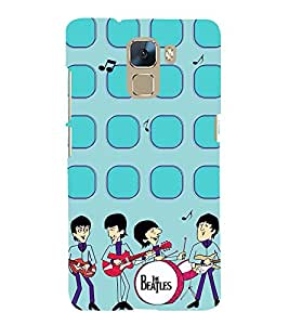 Vizagbeats The beatles band Back Case Cover for Huawei Honor 7