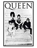 Maxi Poster 61 x 91,5 cm cadre noir brillant Another One Bites The Dust de Queen