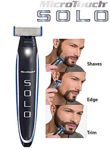 Barba Cortapelos Barba Recortador Pro–Máquina de Cortar Pelo Afeita pelo recortador bodygroomer impermeable USB recargables Hombre y Mujer 3en 1