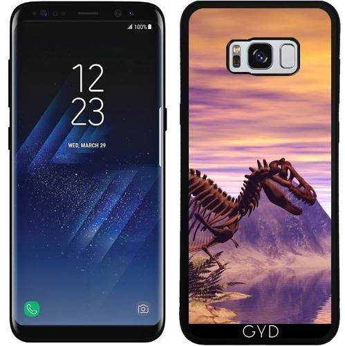 SilikonHülle für Samsung Galaxy S8 (SM-G950) - Dinosaurier-Skelett by nicky2342