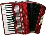 Scarlatti ASCARI IIR Accordéon 48 basses Rouge