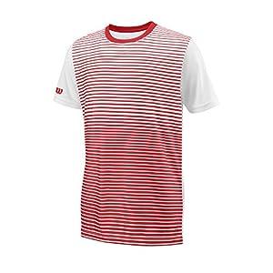 Wilson Kinder Team Striped Crew Kurzärmeliges T-Shirt