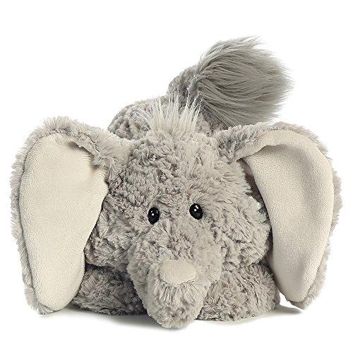 aurora-world-peluche-a-forma-di-elefante-trumpeter-tushies-colore-grigio-grigio-chiaro