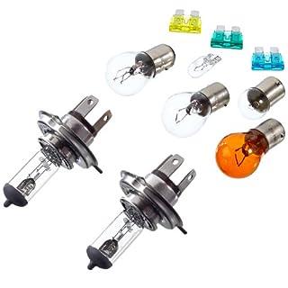 Unitec 73084 Spare Lamp Case H4 (A Pair)