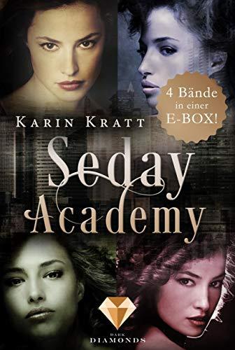 Sammelband der erfolgreichen Fantasy-Serie »Seday Academy« Band 1-4 (Seday Academy ): Eine actionreiche Liebesgeschichte in acht Bänden
