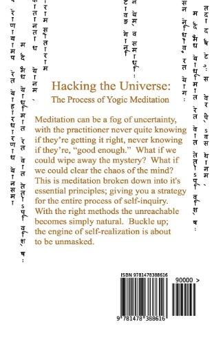 Hacking the Universe: The Process of Yogic Meditation