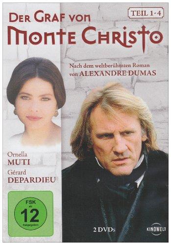 Bild von Der Graf von Monte Christo - Teil 1-4 [2 DVDs]