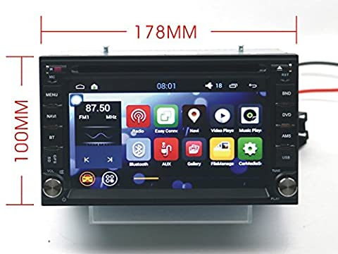 Autostereo SAT NAV 178*100 6.2 inch Universal Nissan Car DVD Player GPS Quad Core Android 5.1 Car Radio Stereo Multimedia System for NISSAN QASHQAI TIIDA PALADIN Quad Frontier LIVANA NAVARA NP300 MICRA PATHFINDER PATROLSENTRASUNNY TREEANO VERSA Double Din In Dash Car Stereo GPS Navigation DVD Player Bluetooth SWC DVR CAM-IN 1080P OBD2 DAB Mirror-link Gift Reverse Camera Man KeyRing - Nissan Radio Cablaggio