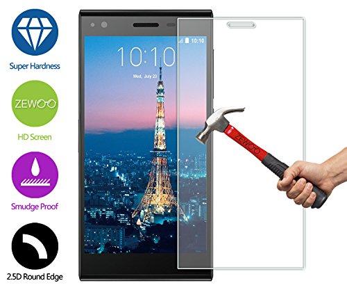 ZeWoo Display Glas Panzerfolie für ZTE Blade Vec 3G / 4G (5 Zoll) Glasfolie Hartglas Schutzfolie 9H *2.5D, nur 0,33mm dünn