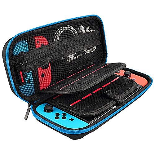 TAOtTAO Zubehör + Handheld Aufbewahrungstasche Tragetasche Reisetasche aus Kohlefaser-Shell für Nintendo-Schalter (Yoga Lenovo Tragetasche)
