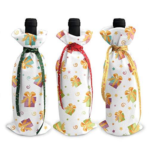 Esta cubierta única para botellas de bricolaje no solo es hermosa, sino que también es una excelente bolsa de regalo. Puede empaquetar otros regalos y botellas de vidrio en fiestas, bodas y festivales. Es perfecto para hacer y decorar.   que estas es...