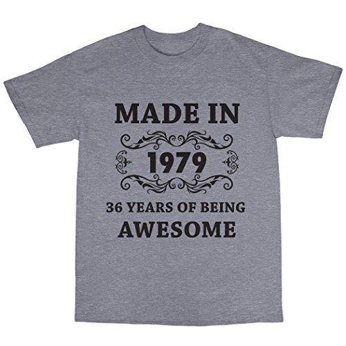 Made in 1979 T-Shirt Grau