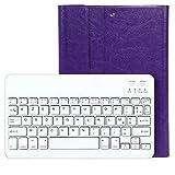 Besmall iPad Air Clavier Française Bluetooth 3.0 sans fil + Housse de Protection Support 360 Degrés Combinaison 2 en 1 Noir