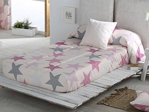 Sansa - Edredón ajustable ESTRELLAS cama 90 - color