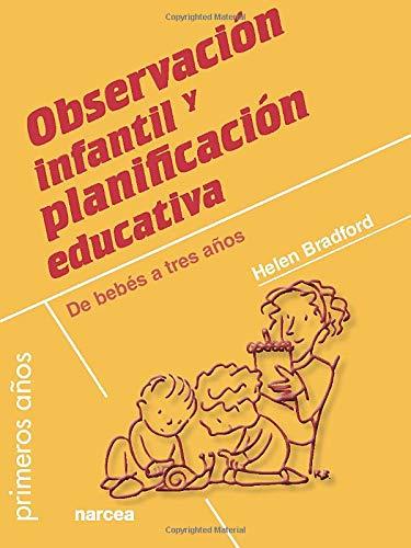 Observación in fantil y planificación educativa (Primeros Años)