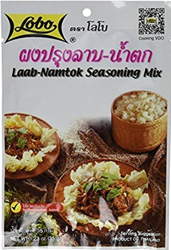 Lobo Thai Laab Namtok Seasoning Mix, 1.06 Ounce (Pack of 5)