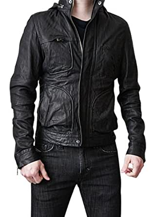 Ghost Protocol Real Leather Jacket - Tom Cruise Mission Impossible (Small)
