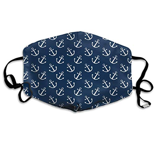 Gxdchfj Anchor-01.png Washable Reusable Masks Respirator Comfy Protective Breath Healthy Safety Warm Windpro of Mask