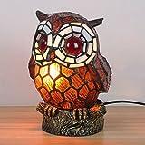 WCS Art-reizendes kreatives Kaffee-Eulen-Tabellen-Lampen-Kinderlampe-Nachtlicht